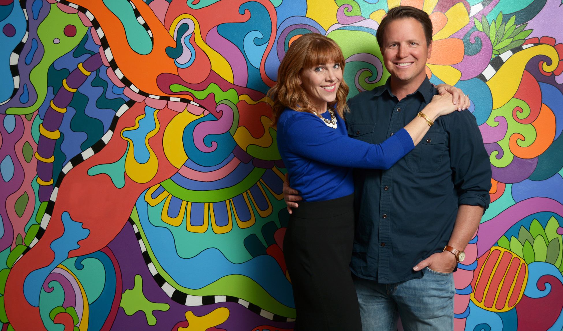 Nate Quigley, CEO of Chatbooks. Pictured with co-founder Vanessa Quigley