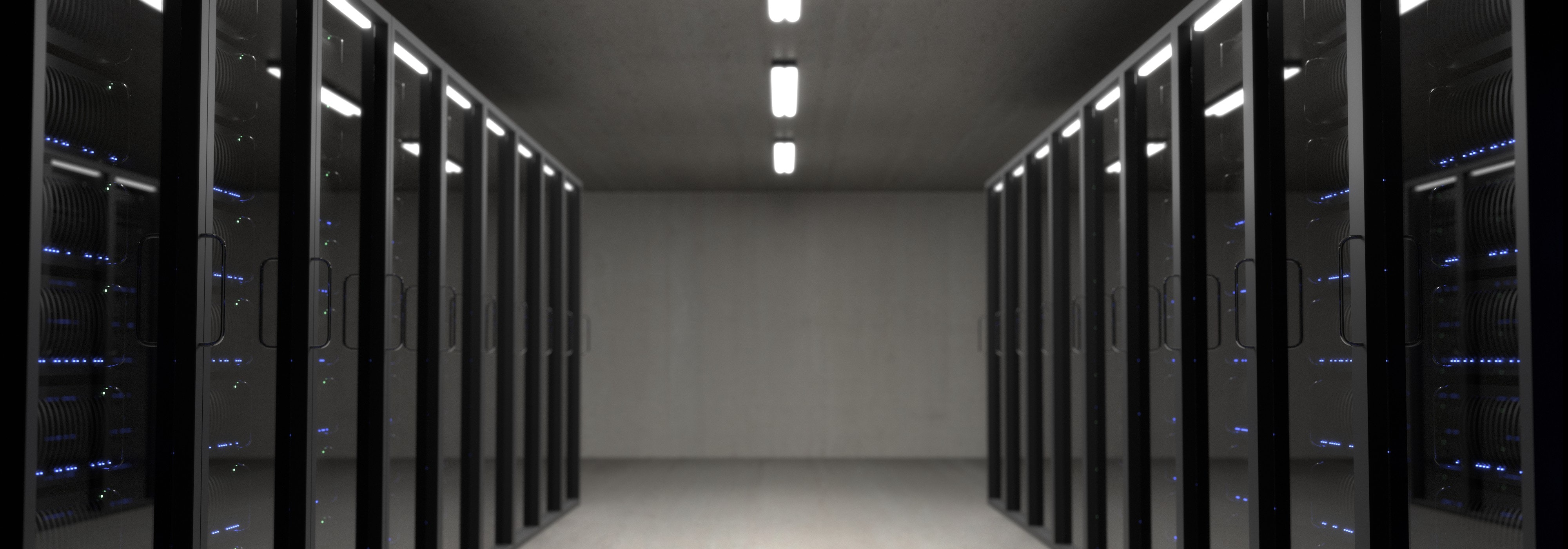 Server room. Facebook and Google Censor People