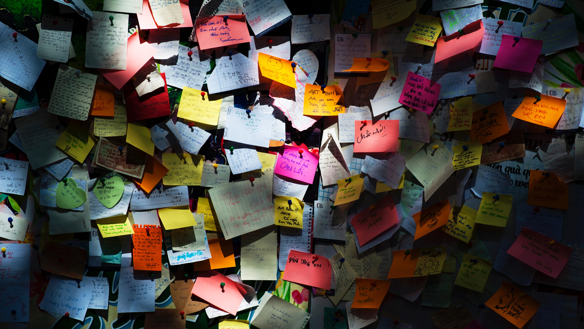 Sticky Notes. How to get teams to accomplish goals