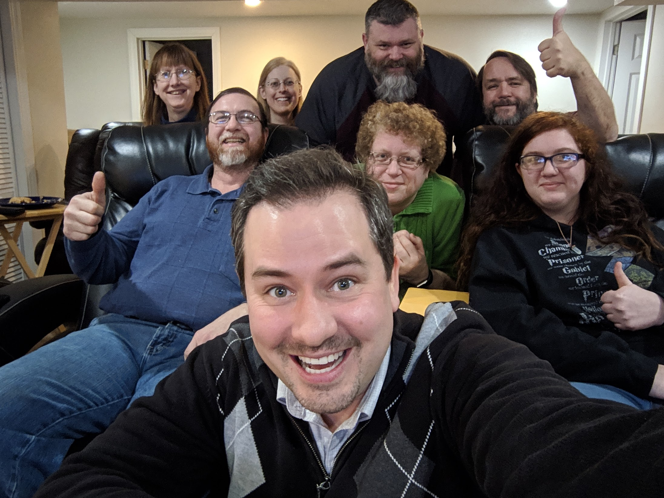 Justin Brady visits some listeners 2