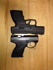 Boberg XR9 compared to Walther PPS M1