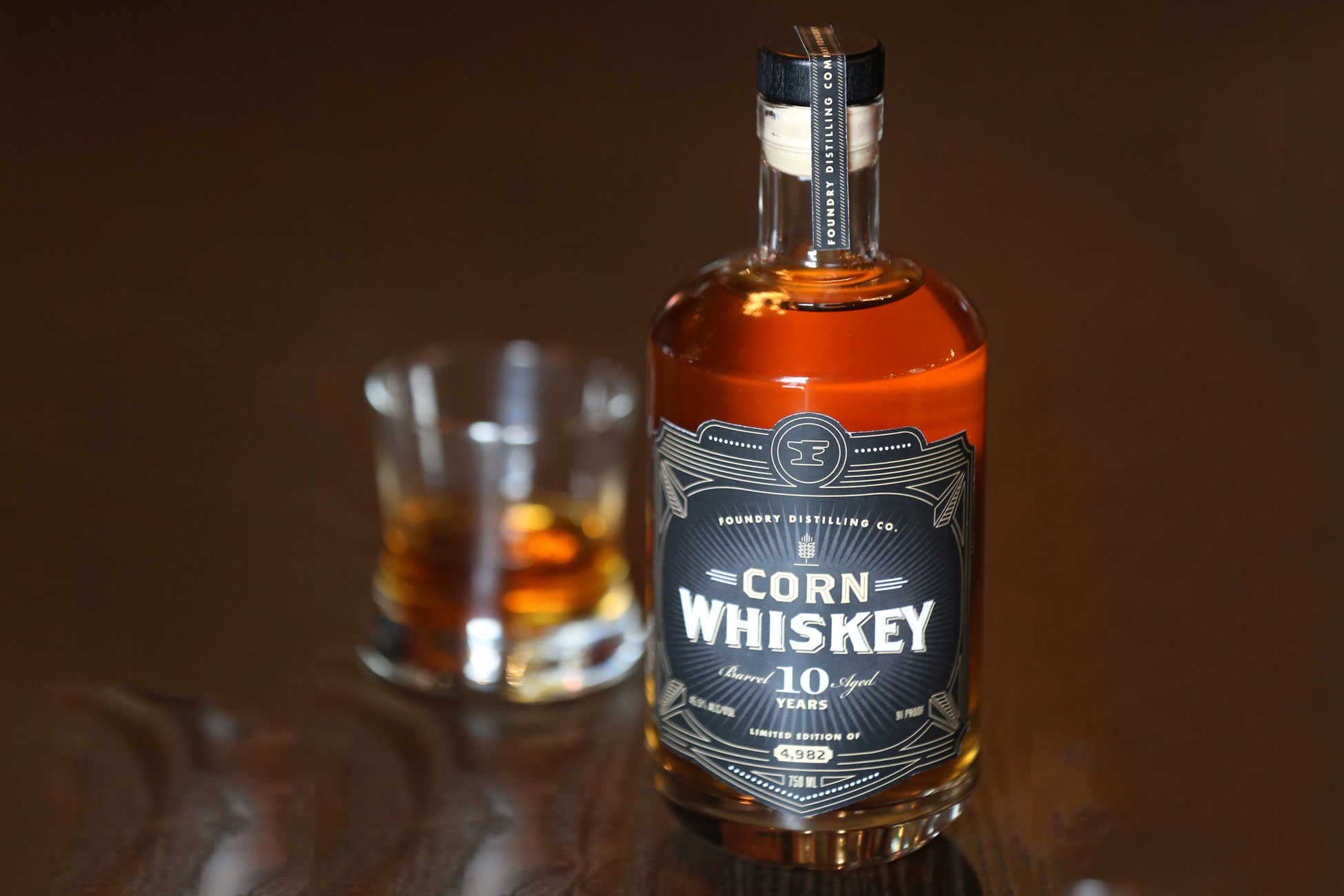 Foundry Distillery 10 year whiskey