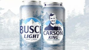Carson King Busch Beer Can