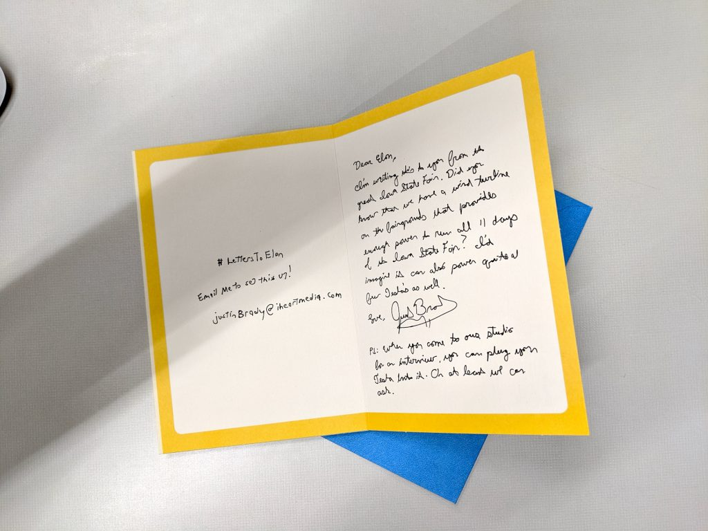 Letters To Elon 14th Edition Inside