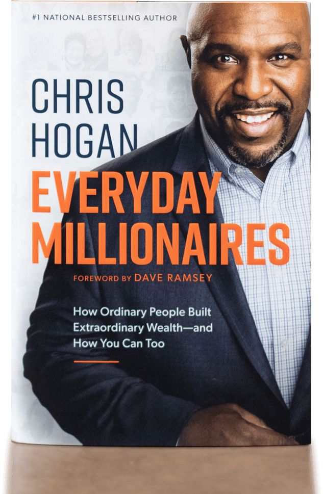 Book sleeve of Everyday Millionaires, By Chris Hogan