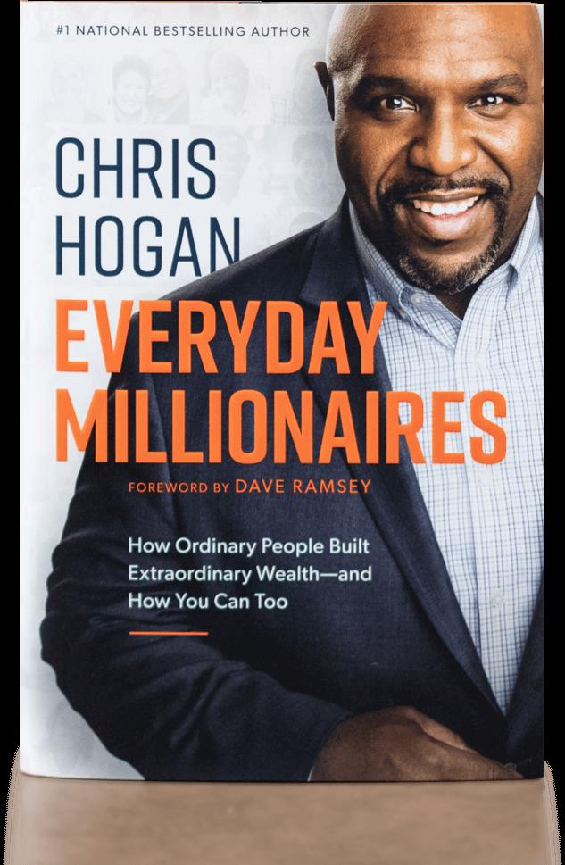 Book sleeve of Everyday Millionaires, By Chris Hogan