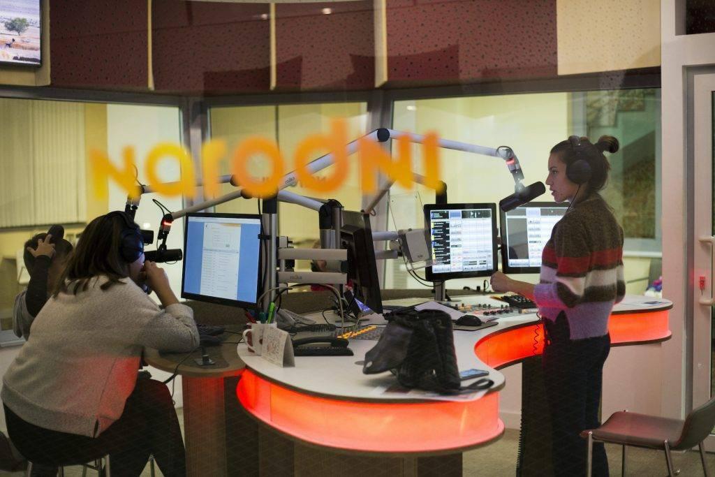 Podcasting or Radio Studio